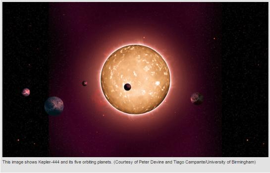 photo - Kepler 444