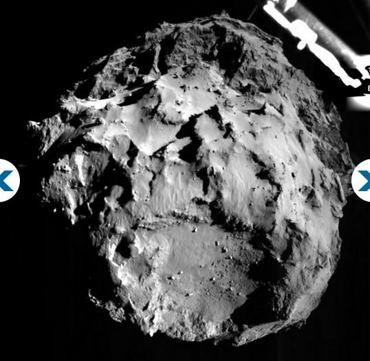 photo Rosetta Mission