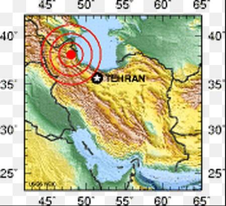 photo-Map of  Iran