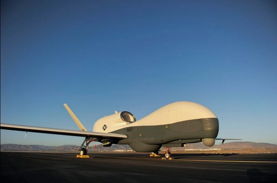photo-A RQ-4A in U.S. Navy markings