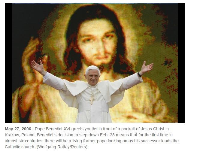 photo-Pope Benedict XVI