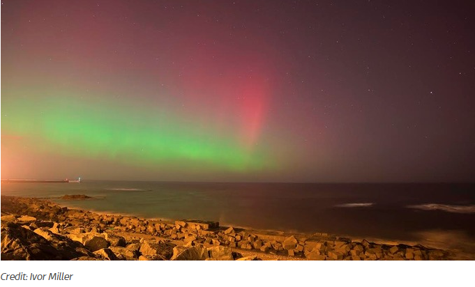 Royal astronomical society my blog news and blues reviews for Chance of seeing northern lights tonight