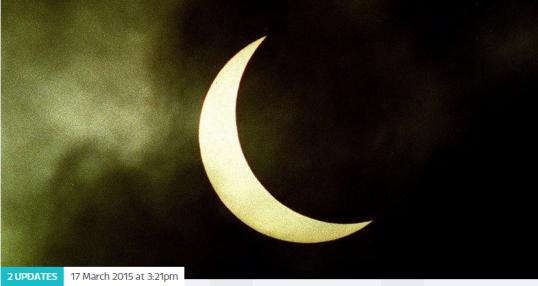 photo- solar eclipse - ITV News