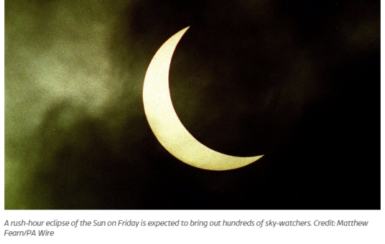 photo-Fridays solar eclipse