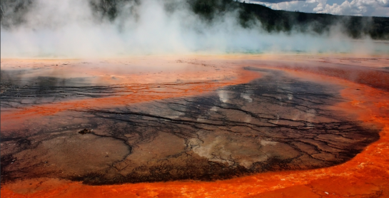 photo-Yellowstone Supervolcano