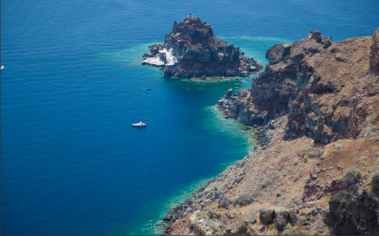 photo-Thera – island of Santorini in the Aegean Sea