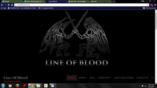 photo-LINE OF BLOOD