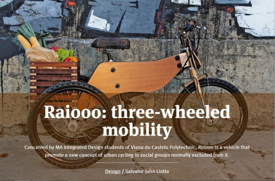 photo-RAIDOOO three wheeled mobility