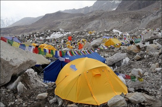 photo-Mt Everest base camp